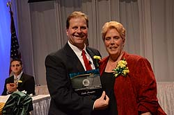 Scott Pitoniak and Donald Holleder Award Winner Linda Hampton